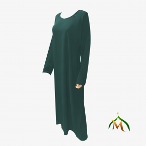 9 abayah profil vert bouteille